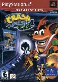 Crash Bandicoot: The Wrath of Cortex - Greatest Hits Box Art