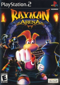 Rayman Arena Box Art