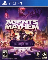 Agents of Mayhem - Day One Edition Box Art
