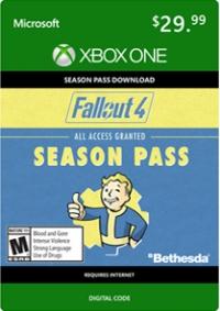 Fallout 4 Season Pass (Xbox One) [NA] Box Art