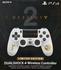 PlayStation 4 Dualshock 4 Wireless Controller - Destiny 2 Limited Edition Box Art