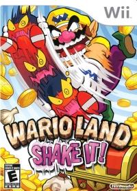 Wario Land: Shake It! Box Art