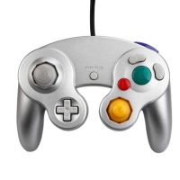 GameCube Controller - Silver Box Art