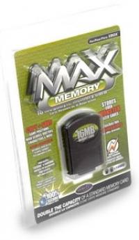 Datel Max Memory 16 Megabyte Memory Card Box Art