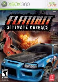 FlatOut: Ultimate Carnage Box Art