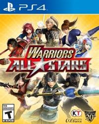 Warriors All-Stars Box Art