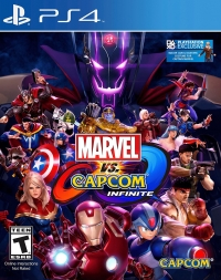 Marvel vs. Capcom: Infinite Box Art