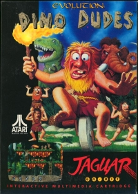 Evolution: Dino Dudes Box Art