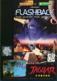 Flashback Box Art