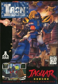 Iron Soldier Box Art