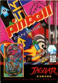 Pinball Fantasies Box Art