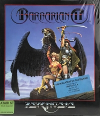 Barbarian II [ES] Box Art