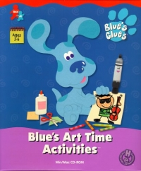 Blue's Clues: Blue's Art Time Activities Box Art