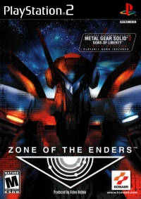 Zone of the Enders Box Art
