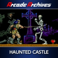 Arcade Archives HAUNTED CASTLE Box Art