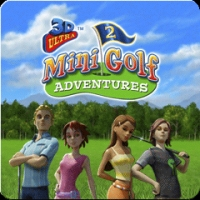 3D Ultra Mini Golf Adventures 2 Box Art