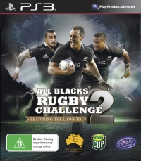All Blacks Rugby Challenge 2: The Lions Tour Edition Box Art
