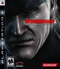 Metal Gear Solid 4: Guns of the Patriots Box Art