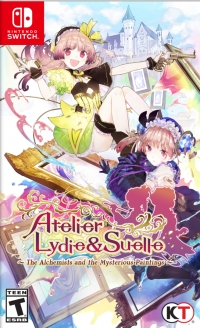 Atelier Lydie & Suelle: The Alchemists & the Mysterious Paintings Box Art