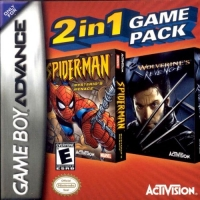 2 in 1 Game Pack: Spider-Man: Mysterio's Menace / X2: Wolverine's Revenge Box Art