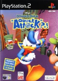 Disney's Donald Duck: Quack Attack [DK/SE/UK] Box Art
