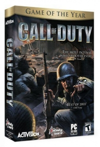 Call of Duty - Game of the Year Box Art