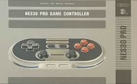 8Bitdo NES30 Pro Wireless Bluetooth Controller Box Art