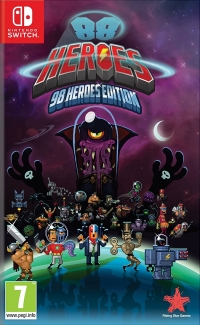 88 Heroes - 98 Heroes Edition Box Art
