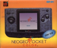 Neo Geo Pocket Color (Stone Blue) [NA] Box Art