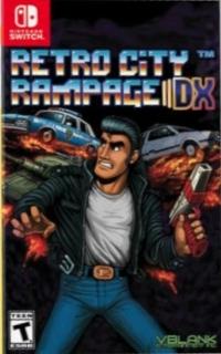 Retro City Rampage DX Box Art