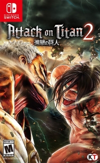 Attack on Titan 2 Box Art