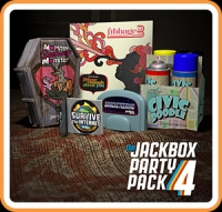 Jackbox Party Pack 4, The Box Art