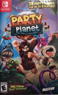 Party Planet Box Art