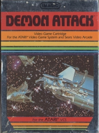 Demon Attack (Text Label) Box Art