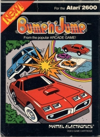 Bump 'n' Jump (Black Label - Mattel) Box Art