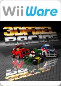 3D Pixel Racing Box Art