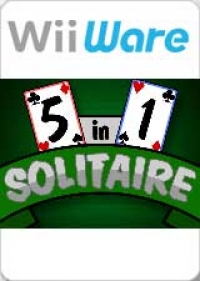 5 in 1 Solitaire Box Art