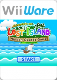 Adventure on LOST ISLAND - Hidden Object Game Box Art