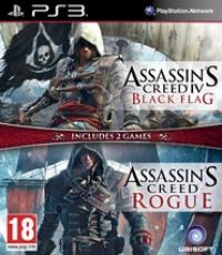 Assassin's Creed IV: Black Flag / Assassin's Creed: Rogue Box Art