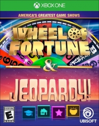 America's Greatest Game Shows: Wheel of Fortune & Jeopardy! Box Art