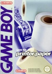 Nintendo Game Boy Printer Paper [EU] Box Art