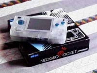 Neo Geo Pocket Color - Clear Box Art