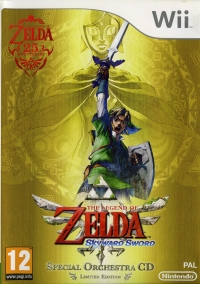 Legend of Zelda, The: Skyward Sword - Special Orchestra CD Limited Edition Box Art
