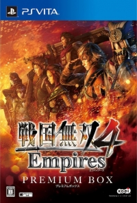 Sengoku Musou 4 Empires - Premium Box Box Art