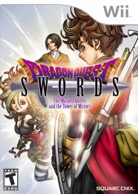 Dragon Quest Swords: The Masked Queen and the Tower of Mirrors Box Art