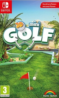3D Mini Golf [UK/NL/FR] Box Art