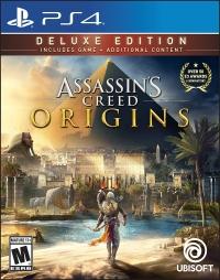 Assassin's Creed: Origins - Deluxe Edition Box Art