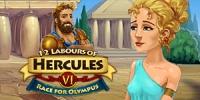 12 Labours of Hercules VI: Race for Olympus Box Art