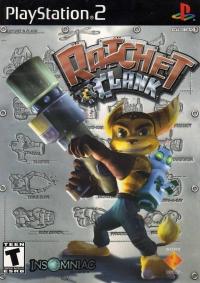 Ratchet & Clank Box Art