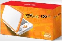 New Nintendo 2DS XL - Orange + White [NA] Box Art
